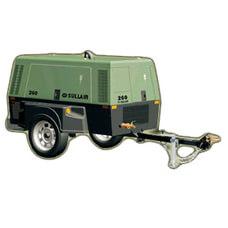 260 Portable Sullair Air Compressor 100 PSI 260H