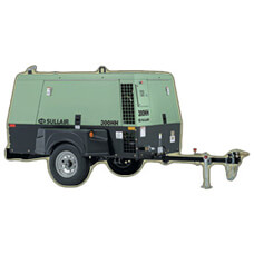 300 Portable Sullair Air Compressor 200 PSI